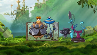 Rayman Origins (X-BOX360) 2011