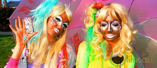 Warna Warni ala Ganguro Girls