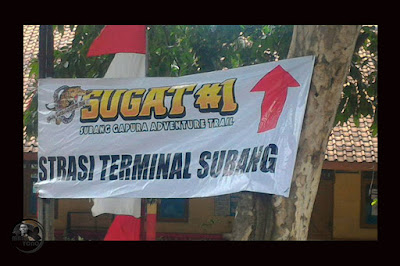MASSAL cabut iklan SUGAT di pohon, HUT Kabupaten Subang Ke-68