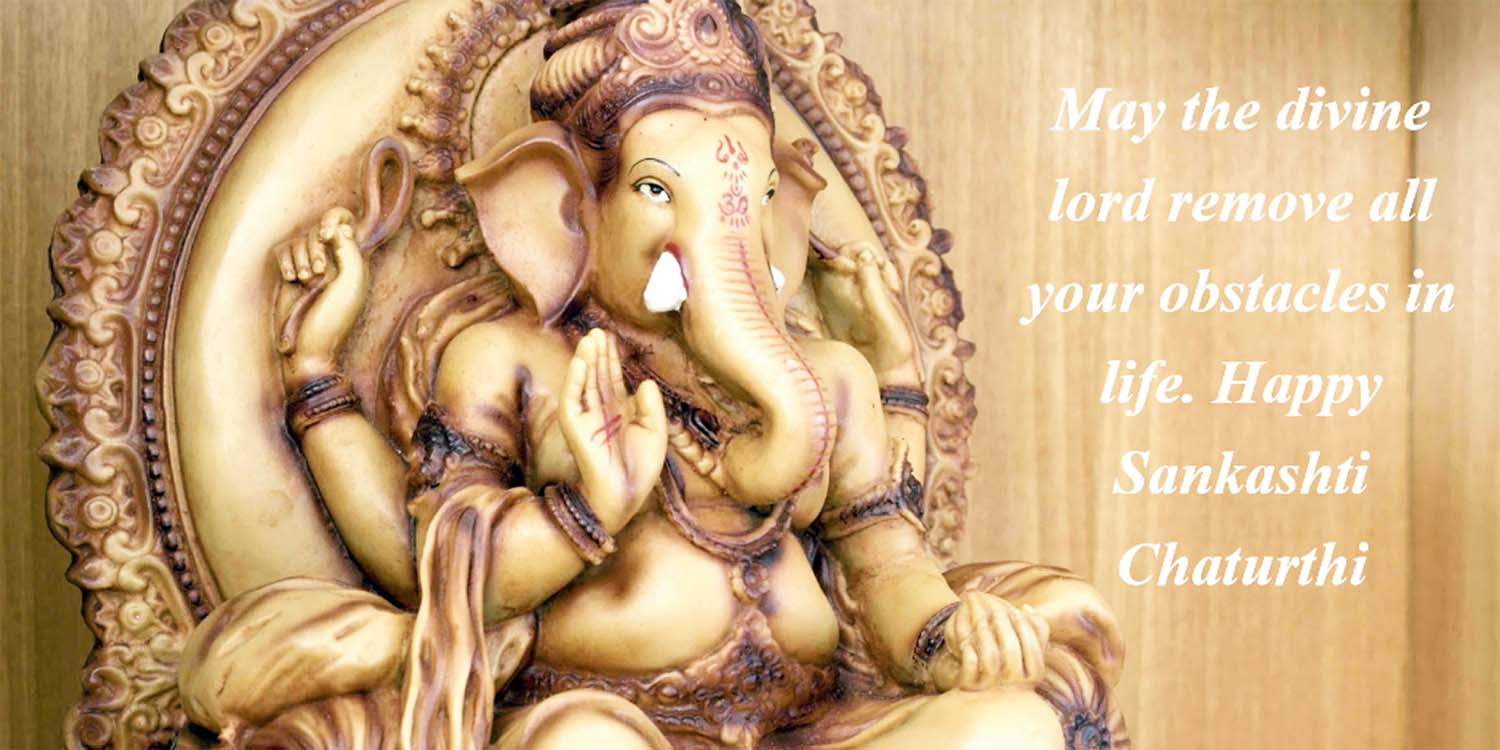 sankashti chaturthi greetings