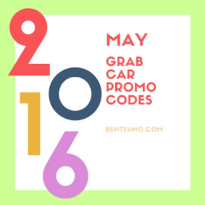 GrabCar Promocode for May 2016