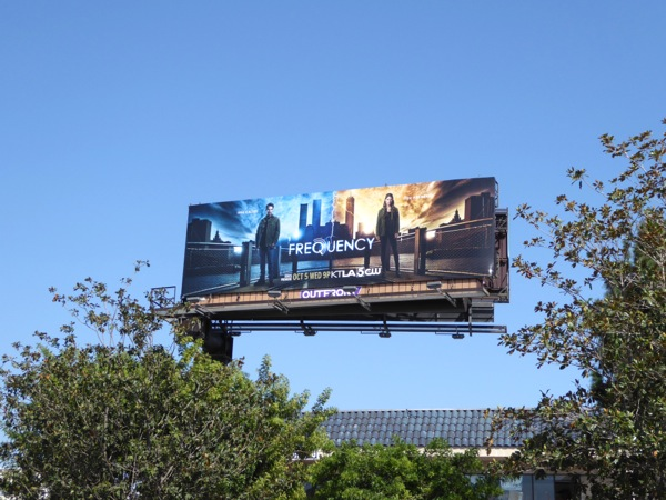Frequency series launch billboard