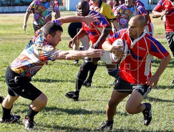 Cuba se impuso 30-7 a una selección de Estados Unidos en un partido amistoso de fútbol rugby aficionado