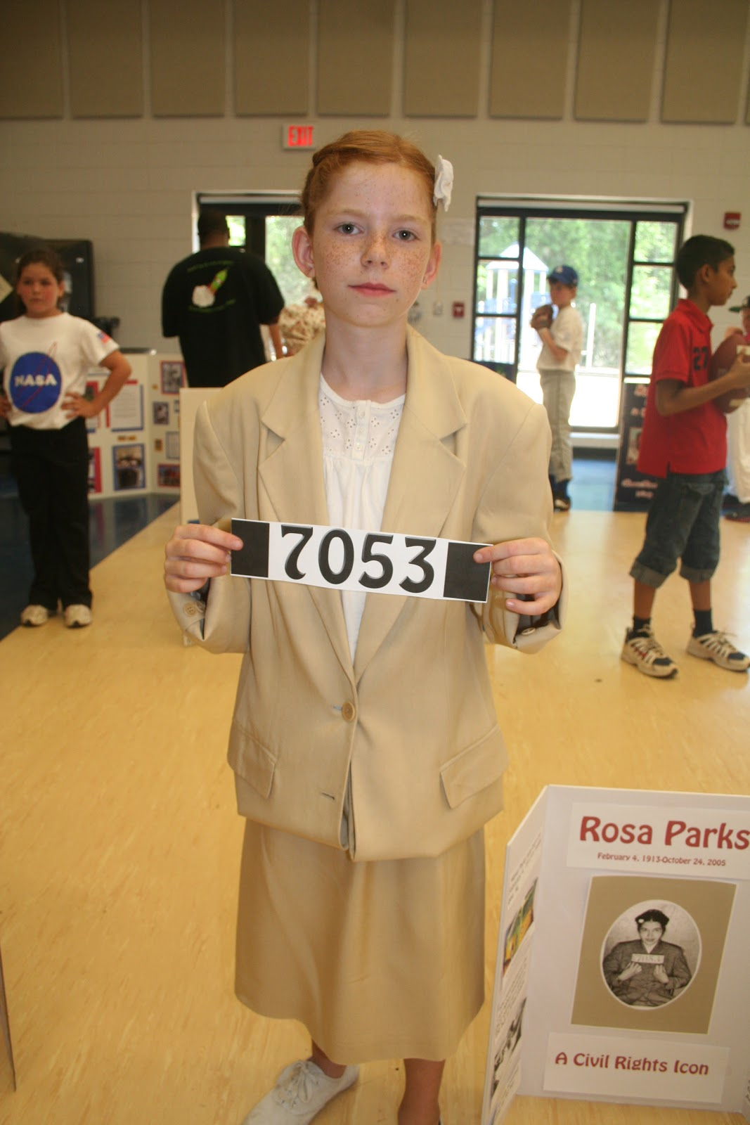 For A School Project I Had To Pick Famous Alabamian Dress Up Aemorize Sch About The Person Picked Rosa Parks Because Knew She Would Be