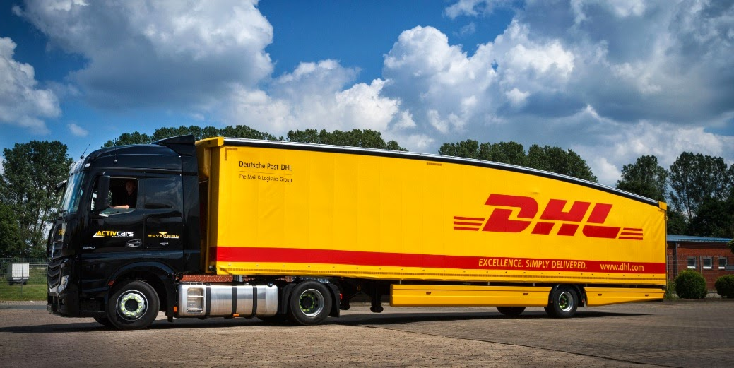 DHL Teardrop Trailer