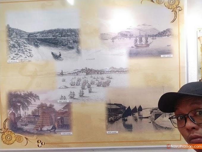 Pertama Kali Masuk Melawat Muzium Kastam di Banda Hilir, Melaka