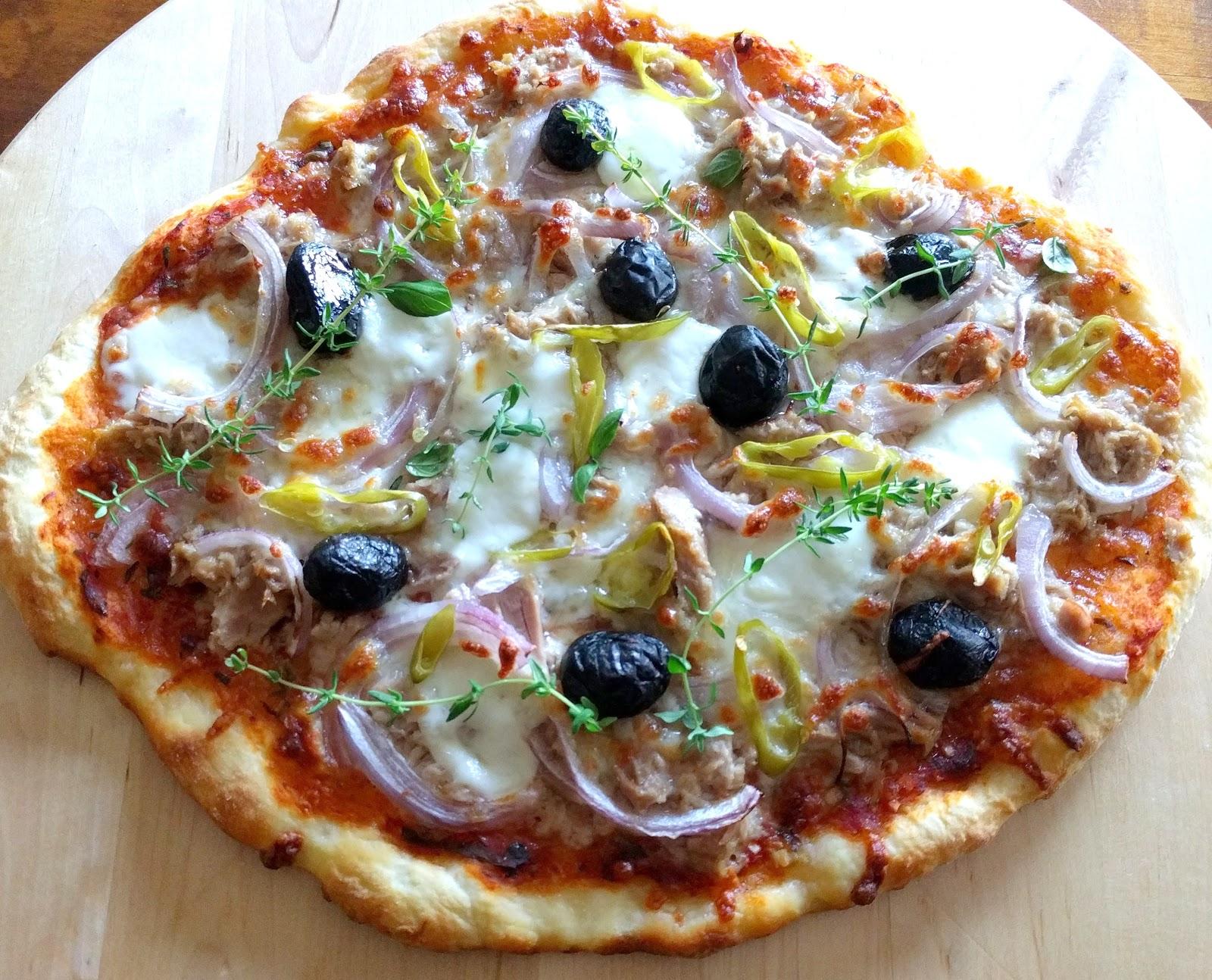Schnatters Brodelstube: - Thunfisch Pizza & Pizza Hawaii