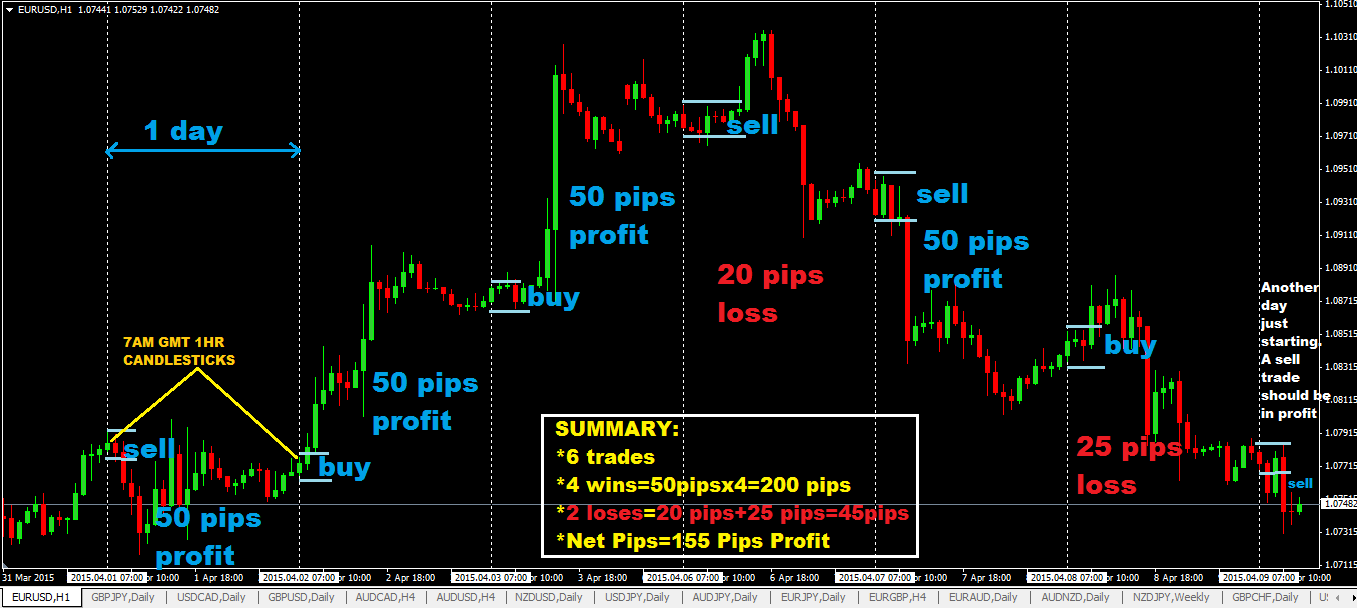 Forex or day trading