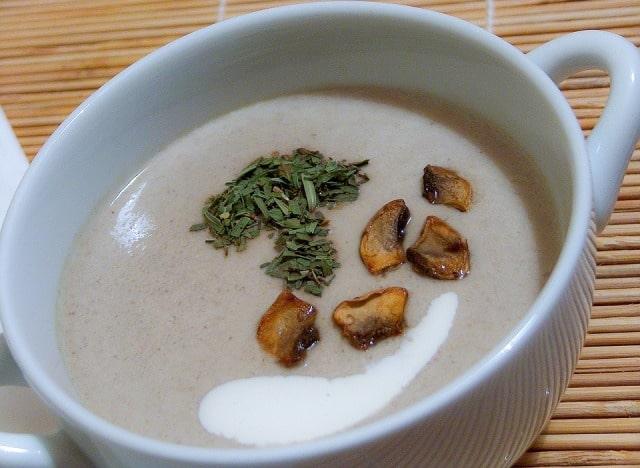 frugal ramadan recipes creamy mushroom soup