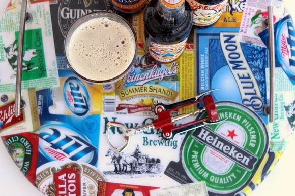 The blaze makes it look polished: DIY Beer Tray | DIY Playbook