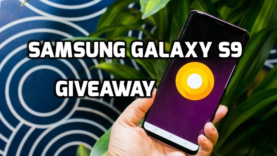 Giveaway samsung galaxy s9