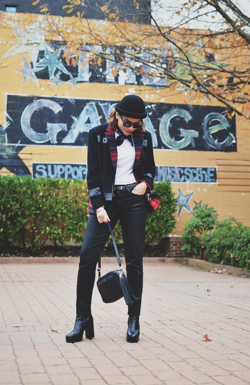 Punk Look Street Style