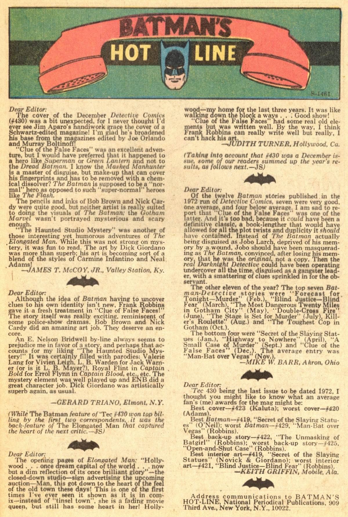 Detective Comics (1937) 434 Page 16