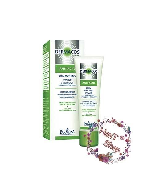 Kem dermacos anti acne cho da dầu da mụn