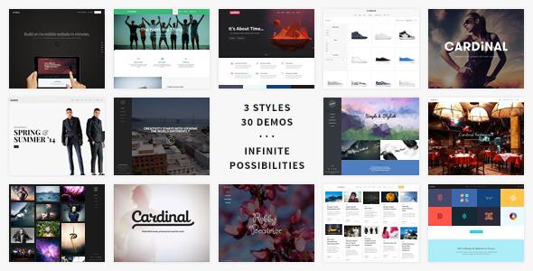 Cardinal v1.90 - Themeforest Premium Wordpress Theme
