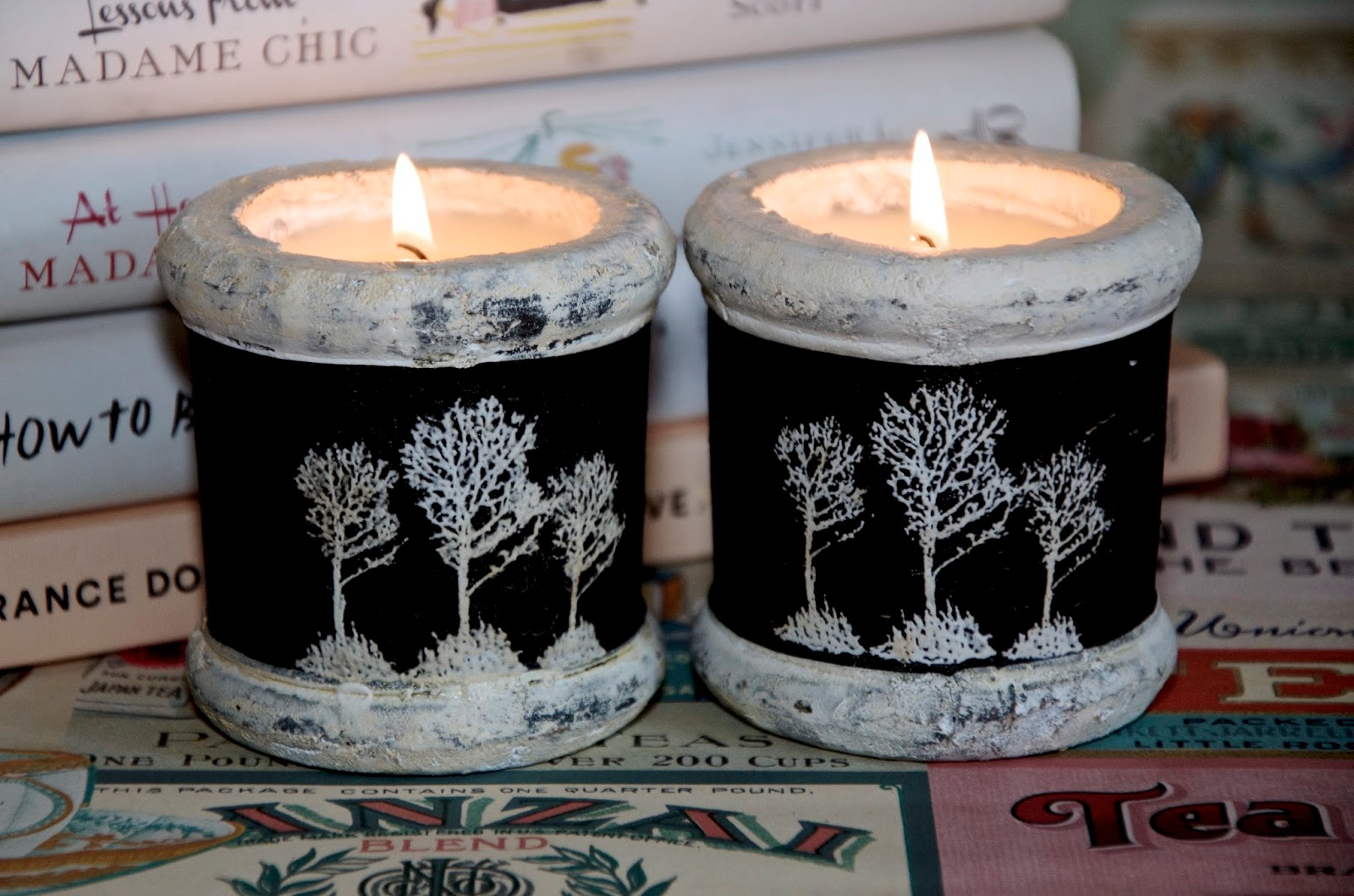 scented tree candles