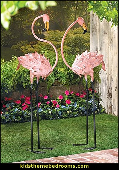 Pink Flamingo Yard Decorations   Alice in Wonderland party decorating ideas - Alice in Wonderland theme party decorations - Alice in Wonderland costumes -  Alice in Wonderlnd wall decals - Alice in Wonderland wall murals -  tea party theme Alice in Wonderland Tea Party