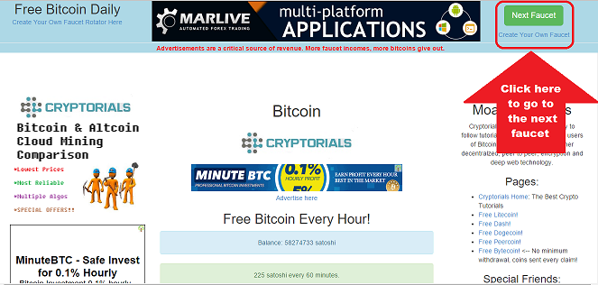 Earn Money Fast With A Bitcoin Faucet Rotator - How To Earn