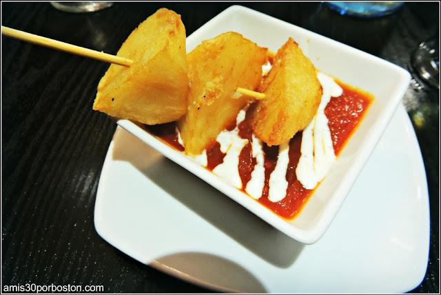 Gastronomía Almeriense: Tapa de Patatas Bravas