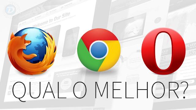 Qual o melhor browser?