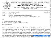 Pelaksanaan PPG/ PPGJ Tahun 2019