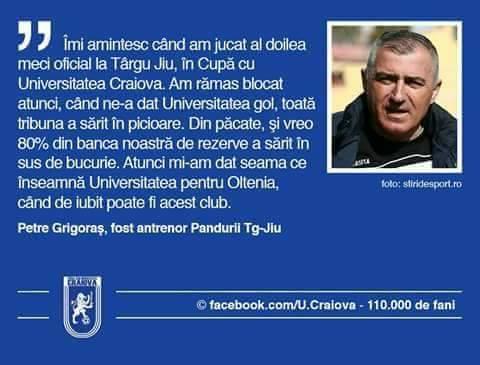 ȘTIRI din SPORT LIVE: Fotbal Club Universitatea Craiova