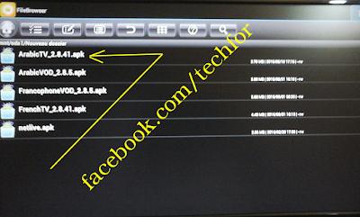تنصيب التطبيقات انطلاقا من مفتاح usb لل revolution smart 1