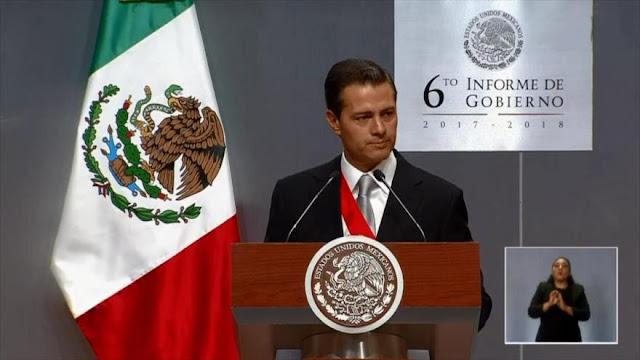 Presidente de México presenta el sexto y último informe de gobierno