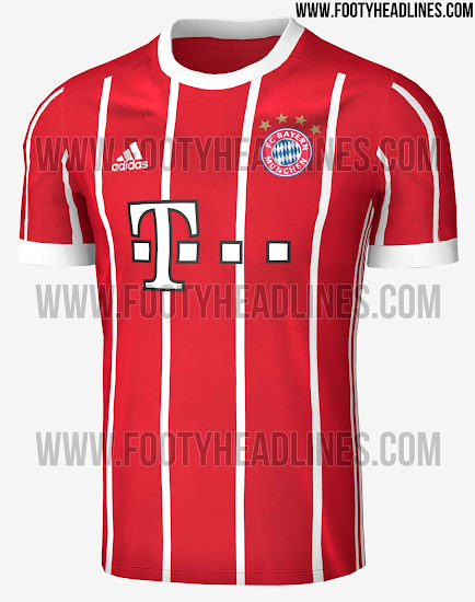 Bayern Munich S Kit For The 2017 18 Season Has Been Leaked Sportbible