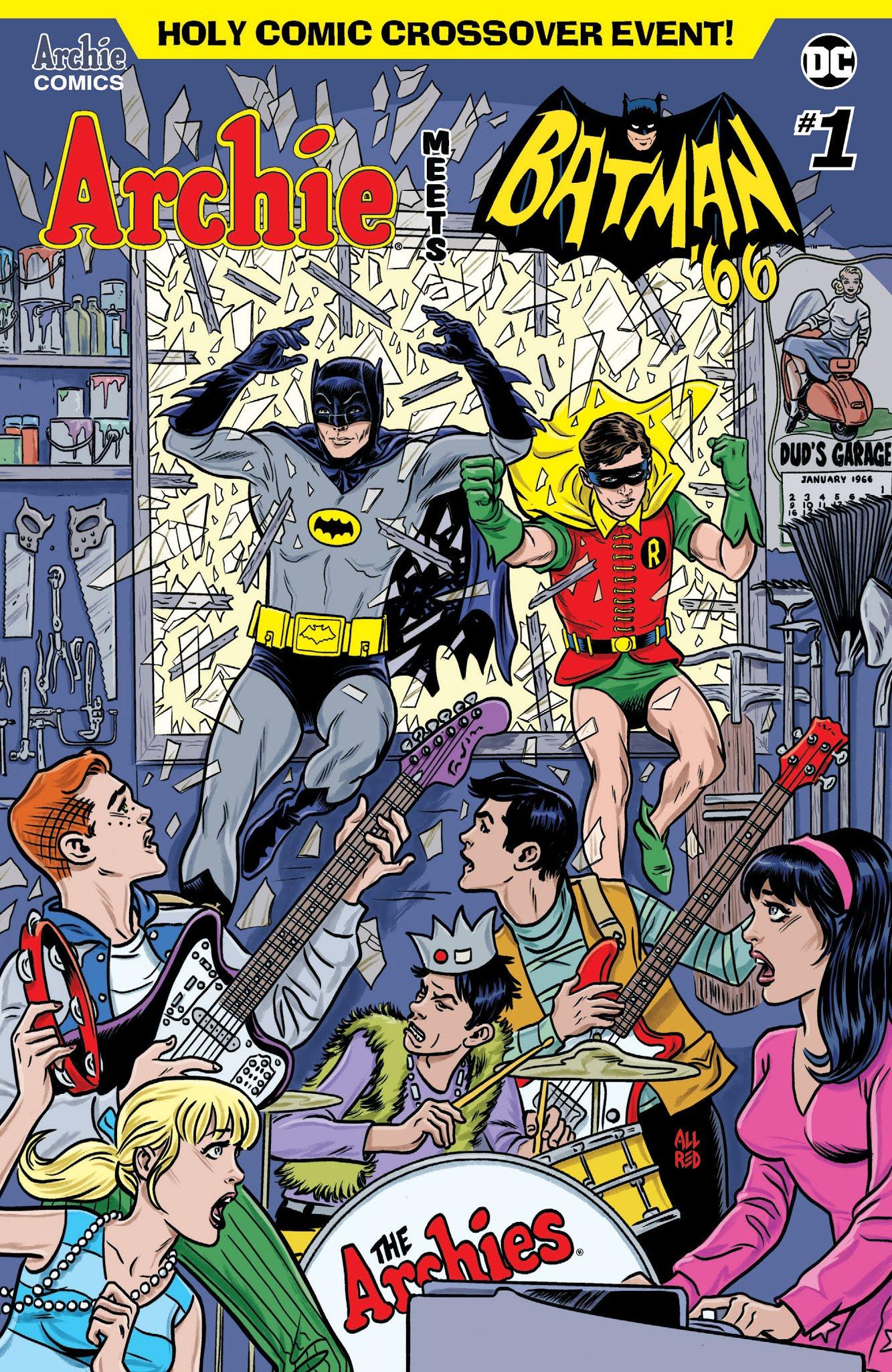 Archie Meets Batman 66 1 Page 1