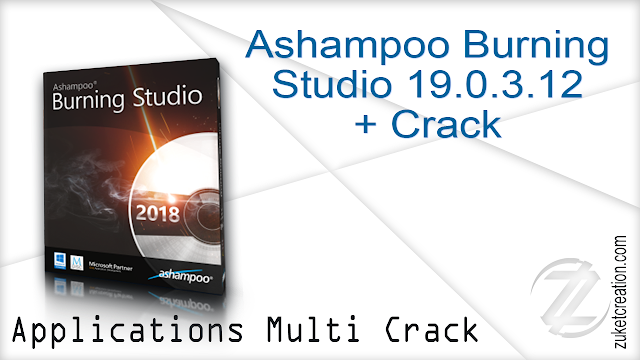 Ashampoo Burning Studio 19.0.3.12 + Crack