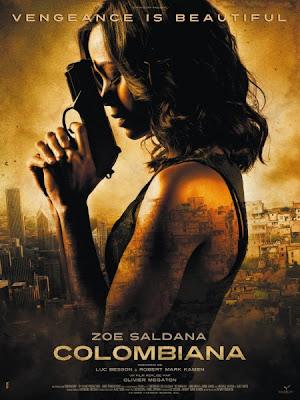 Zoe Saldana Inoata Cu Rechinii In Noul Clip Pentru Filmul Colombiana