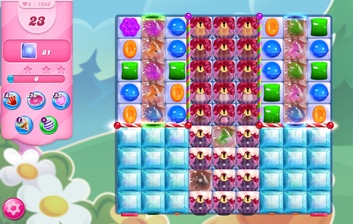 Candy Crush Saga level 7232