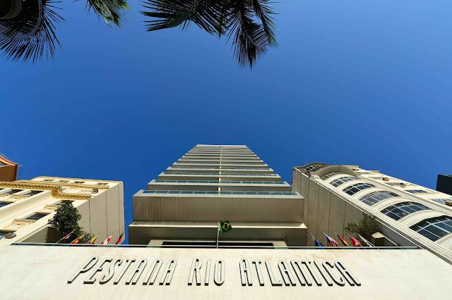 Blog Apaixonados por Viagens - Copacabana- Hotel Pestana Rio Atlântica - Réveillon