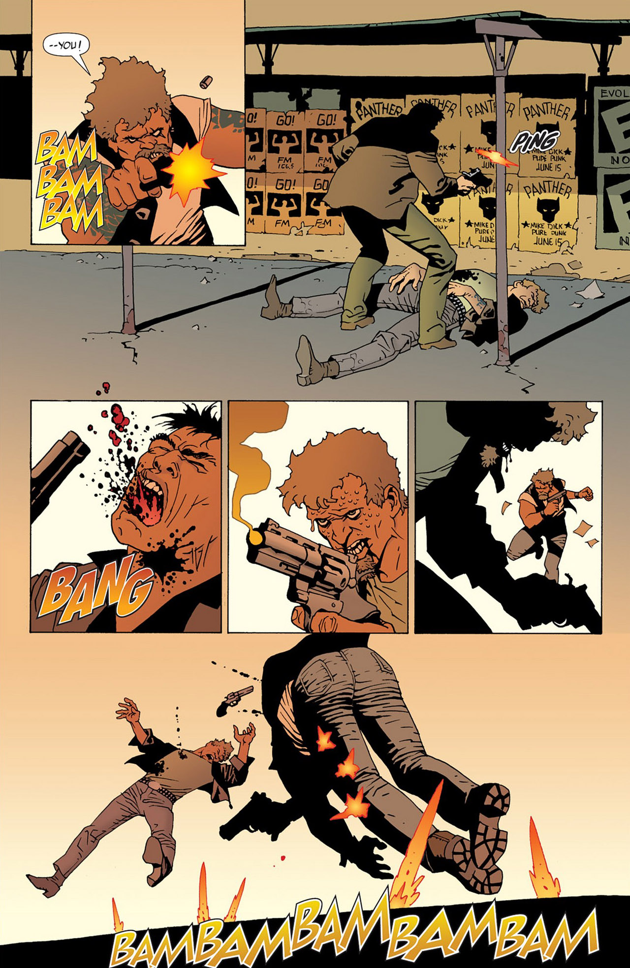 Read online 100 Bullets comic -  Issue #50 - 23