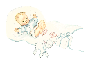 baby boy lamb image digital