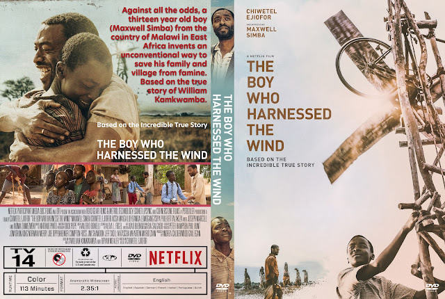 The Boy Who Harnessed the Wind DVD Cover