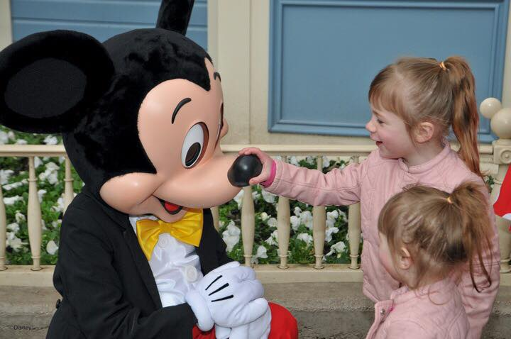 Disneyland Paris Meet Mickey Mouse