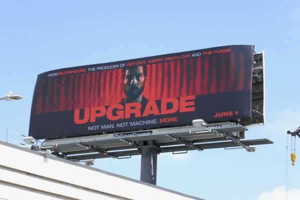 Upgrade movie billboard