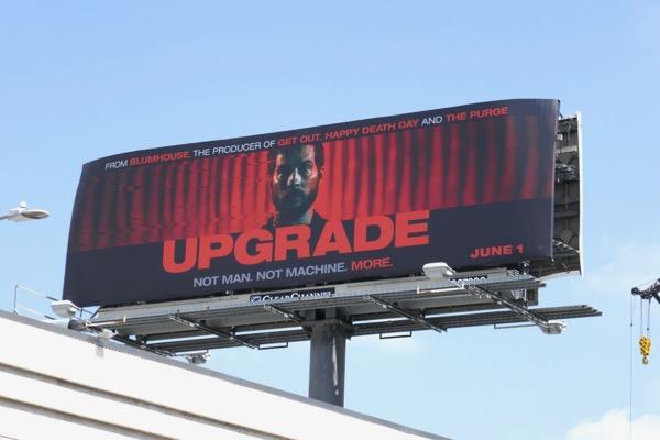Upgrade movie billboard