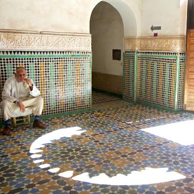 Медресе в Марракеше, Марокко