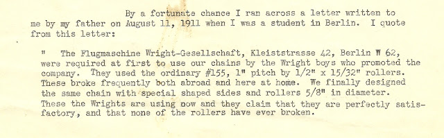 1948 letter Guy Wainwright to Louis Christman