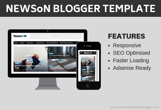 News on Blogger Template