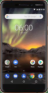 Nokia 6 2018 Front