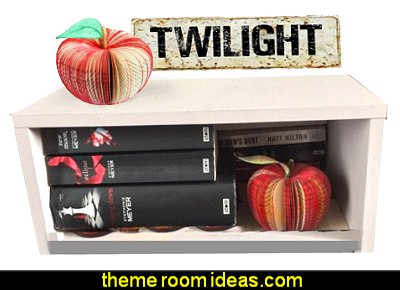 Twilight Red Apple - Handmade from Twilight Saga Book