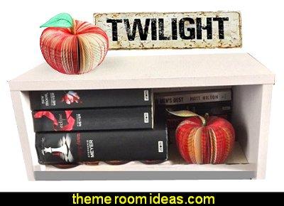Twilight Red Apple - Handmade from Twilight Saga Book