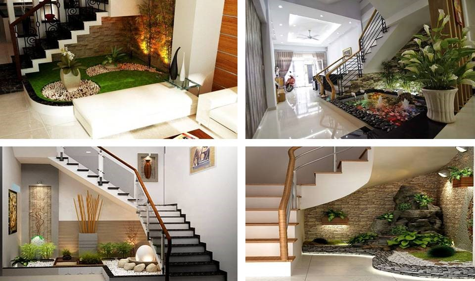 Under Stair Garden Ideas
