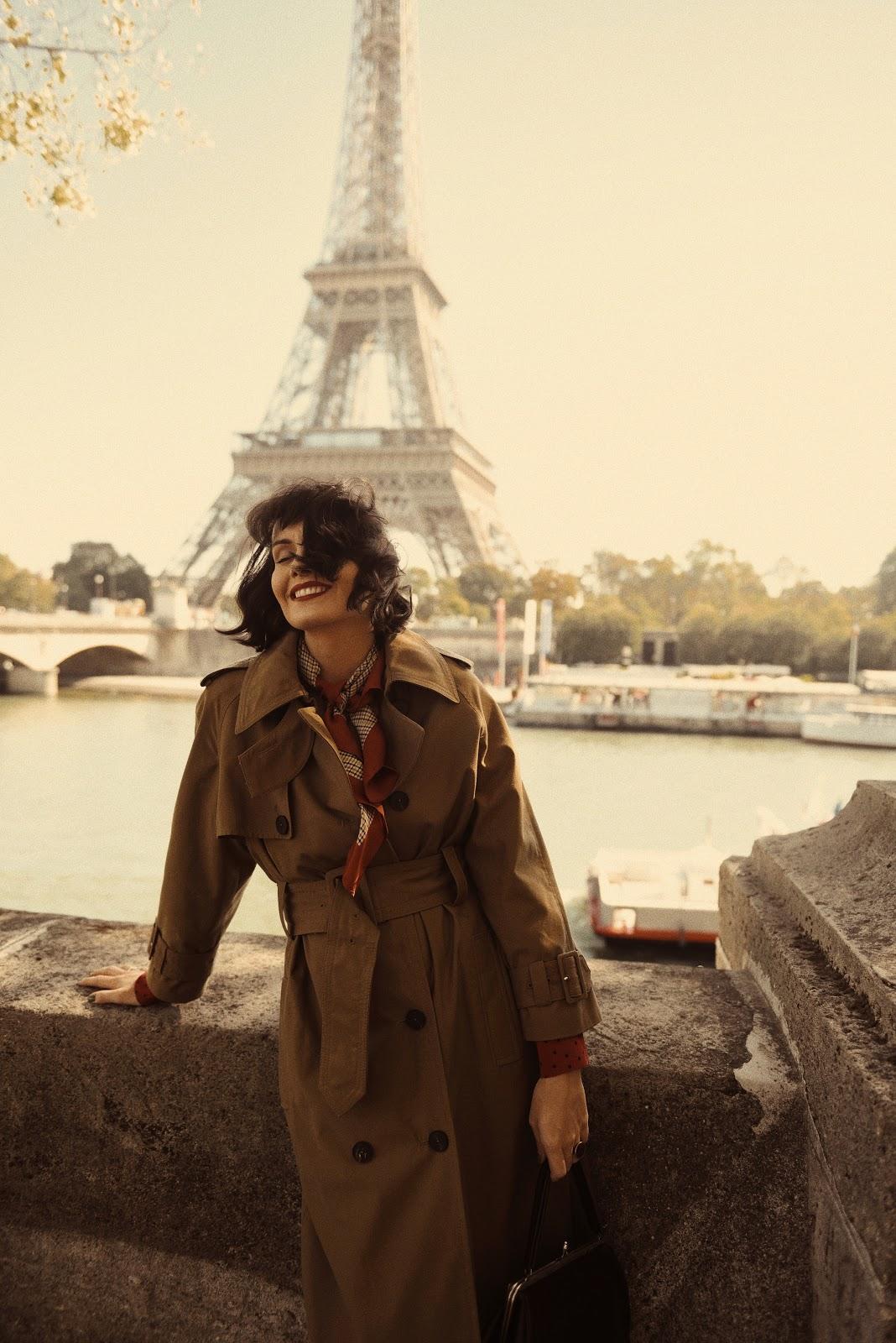 Jesienna stylizacja z Paryżem w tle i moje niegasnące uczucia…