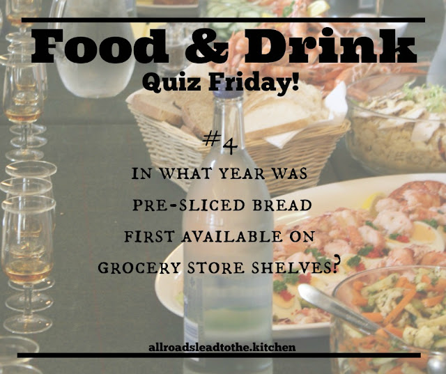 Food & Drink Quiz Friday #4