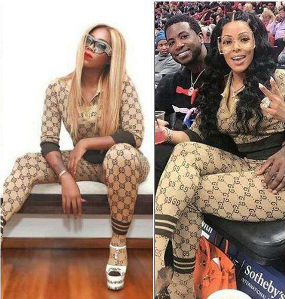 Who Wore These Gucci Outfits Better Between Tiwa Savage And Keyshia Kau0026#39;Oir